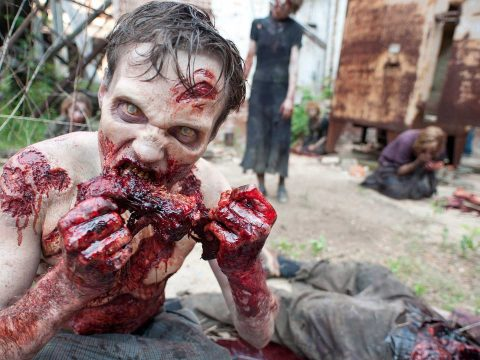 Zombies from The Walking Dead.
