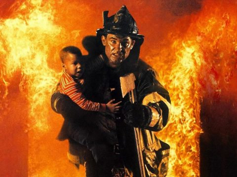 Backdraft starring Kurt Russell.