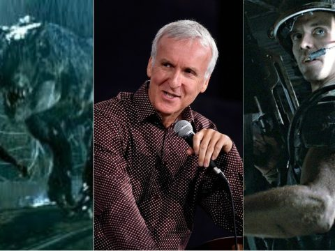 James Cameron's dark vision for Jurassic Park.