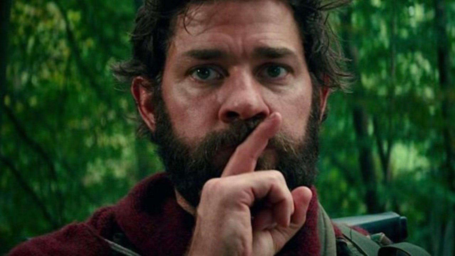 A Quiet Place with John Krasinski.