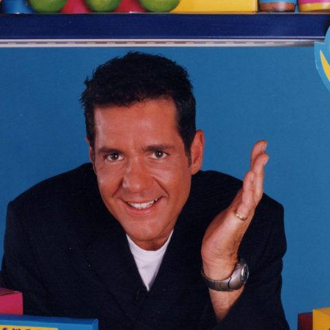 Supermarket Sweep host Dale Winton.