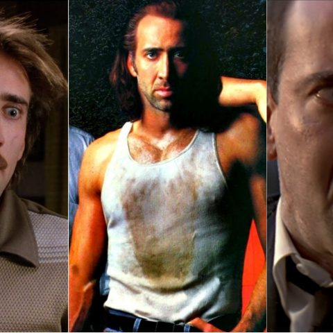 Acting legend Nicolas Cage.