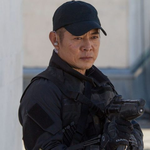 Jet Li in The Expendables.