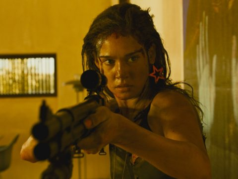 An image from the movie Revenge.