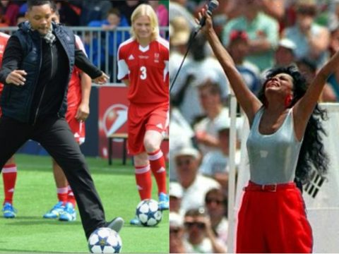Will Smith and Diana Ross missing penalties.