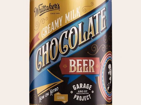 A lovely looking chocolate beer.