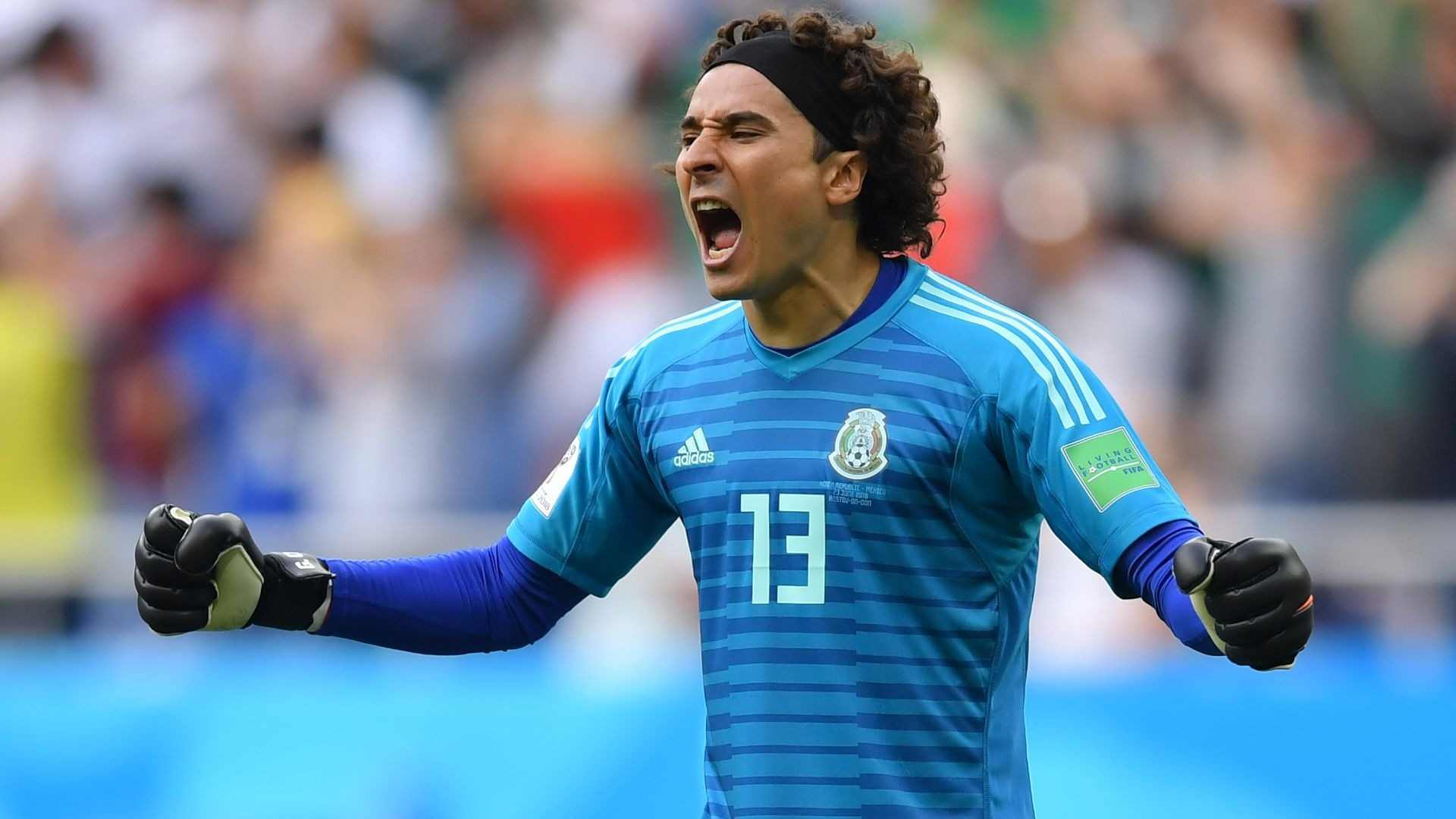 Mexico goalkeeper Guillermo Ochoa.