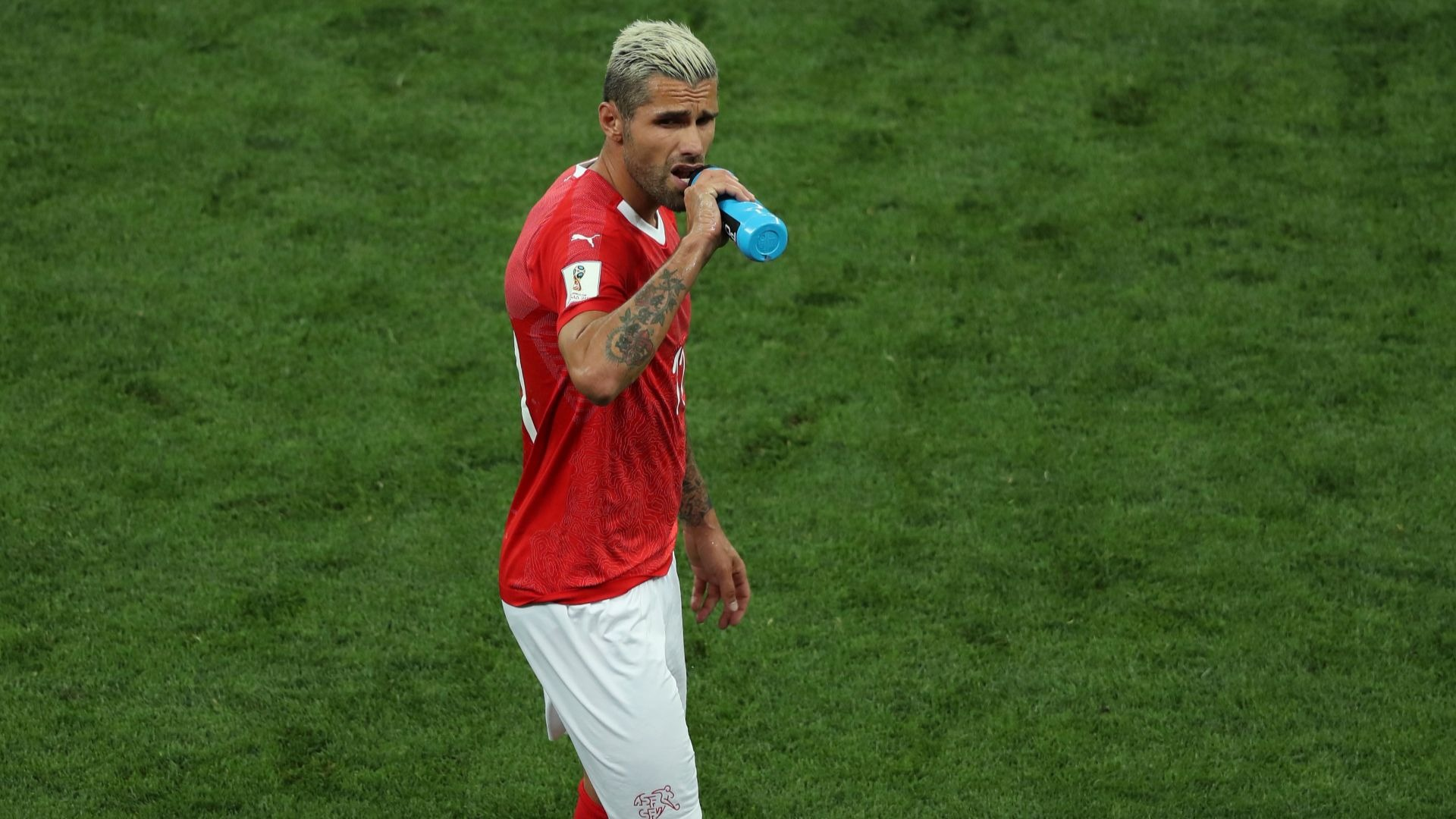 Switzerland battler Valon Behrami.