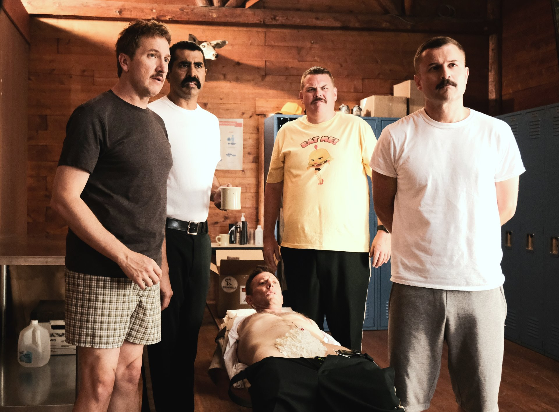 Ball shaving in Super Troopers 2.