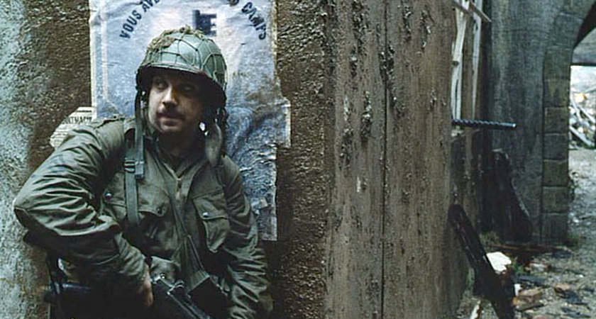 Paul Giamatti in Saving Private Ryan.
