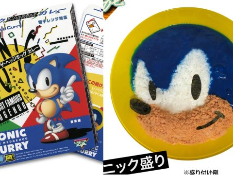 The Sonic The Hedgehog curry.