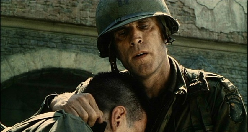 Ted Danson in Saving Private Ryan.