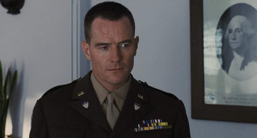 Bryan Cranston in Saving Private Ryan.