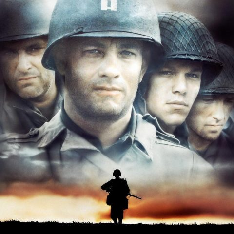 The poster for Saving Private Ryan.