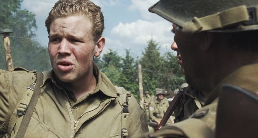 Ryan Hurst in Saving Private Ryan.