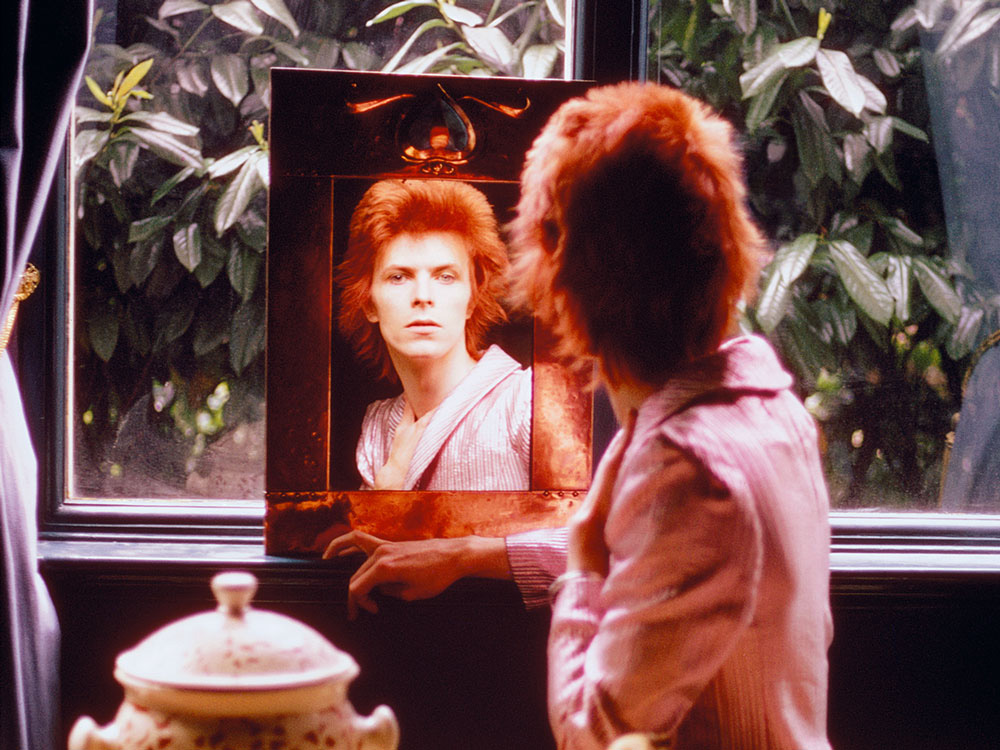 Mick Rock's classic shot of David Bowie in his new book featured in Loaded