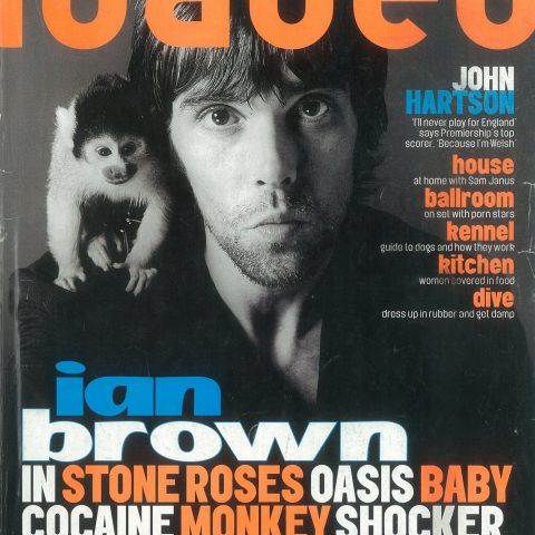 Ian Brown And Monkey Loaded Shoot