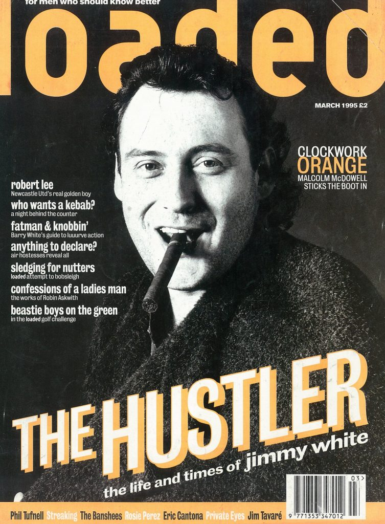 The Whirlwind on Loaded's March 1995 cover