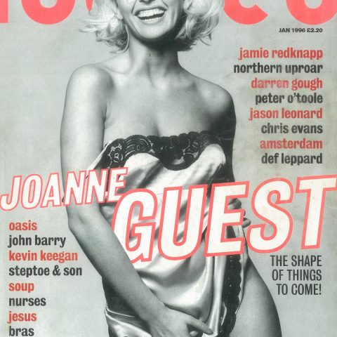 Glamour girls were starting to creep onto Loaded's covers by 1996