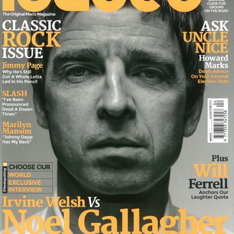 Noel Gallagher was Loaded magazine's final cover star