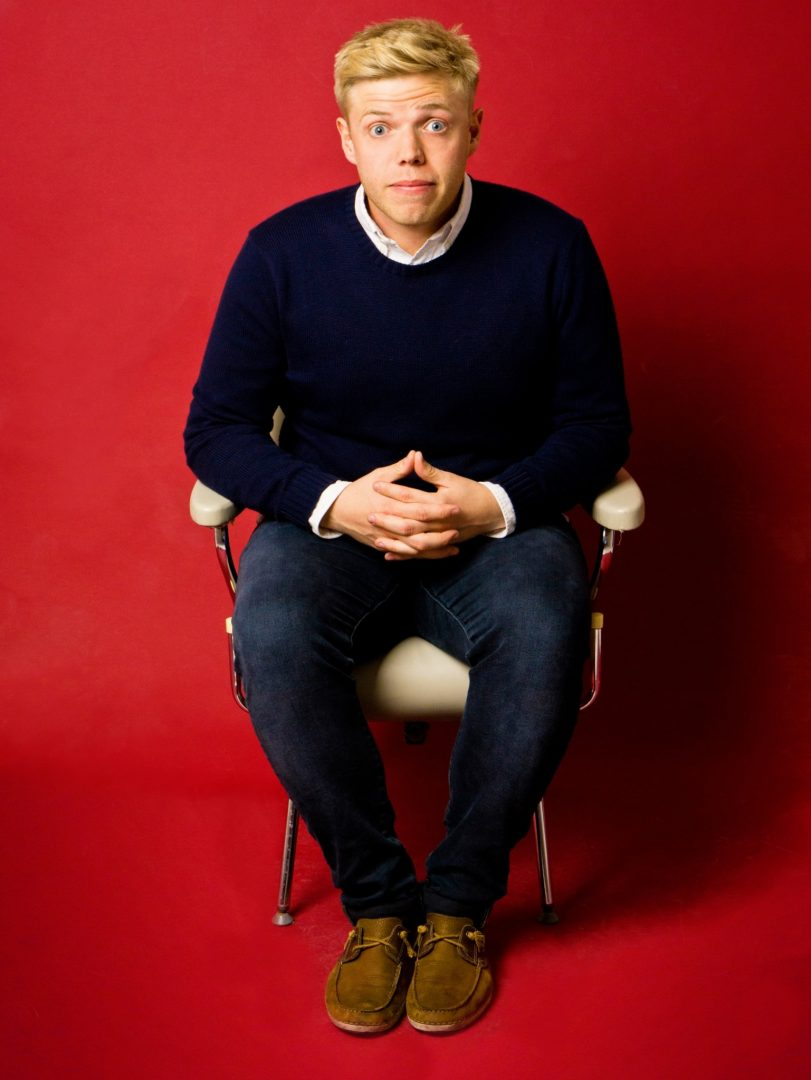 Rob Beckett says he's happy being an observational comic