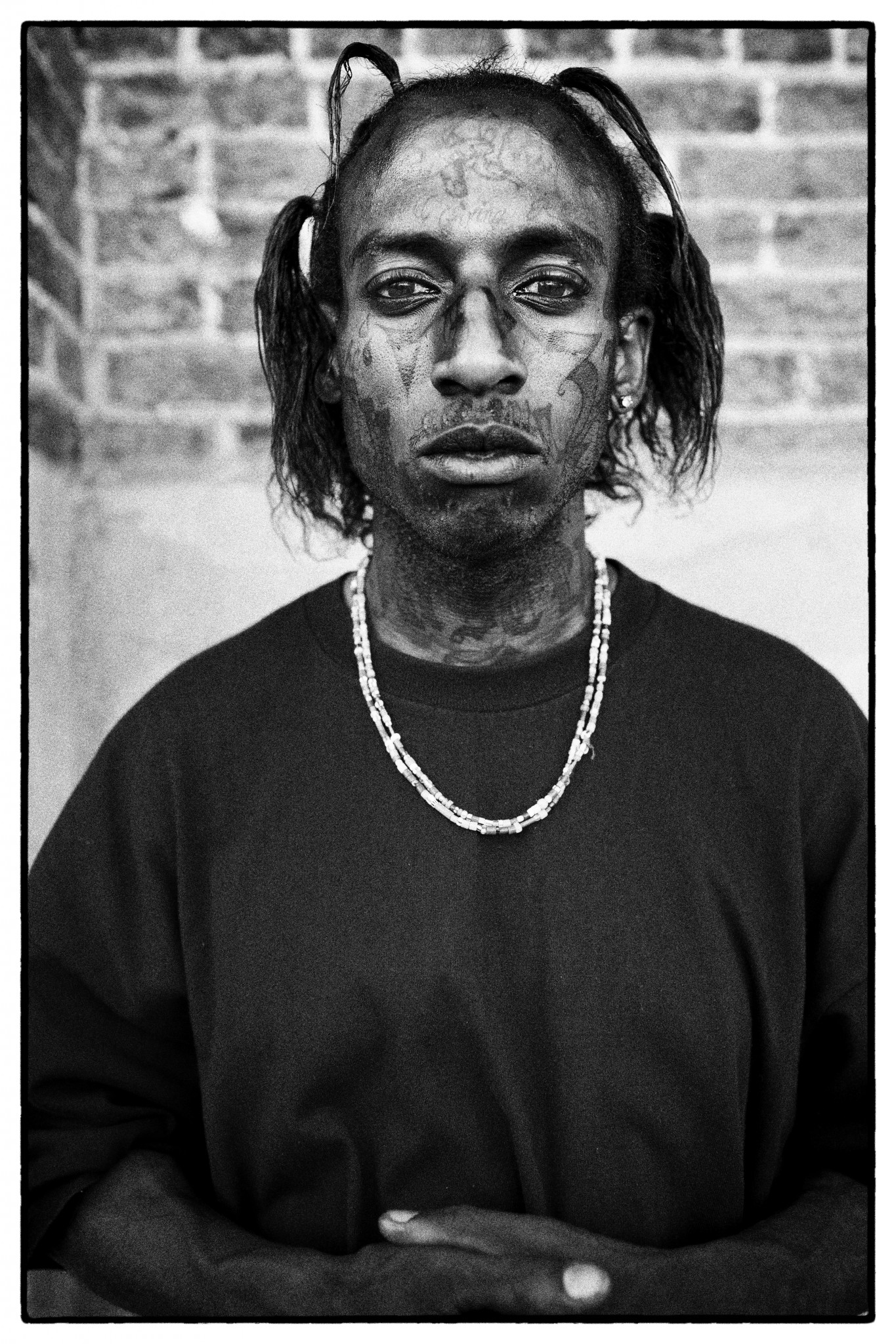 LA gangs' Crip as captured by Andres Herren