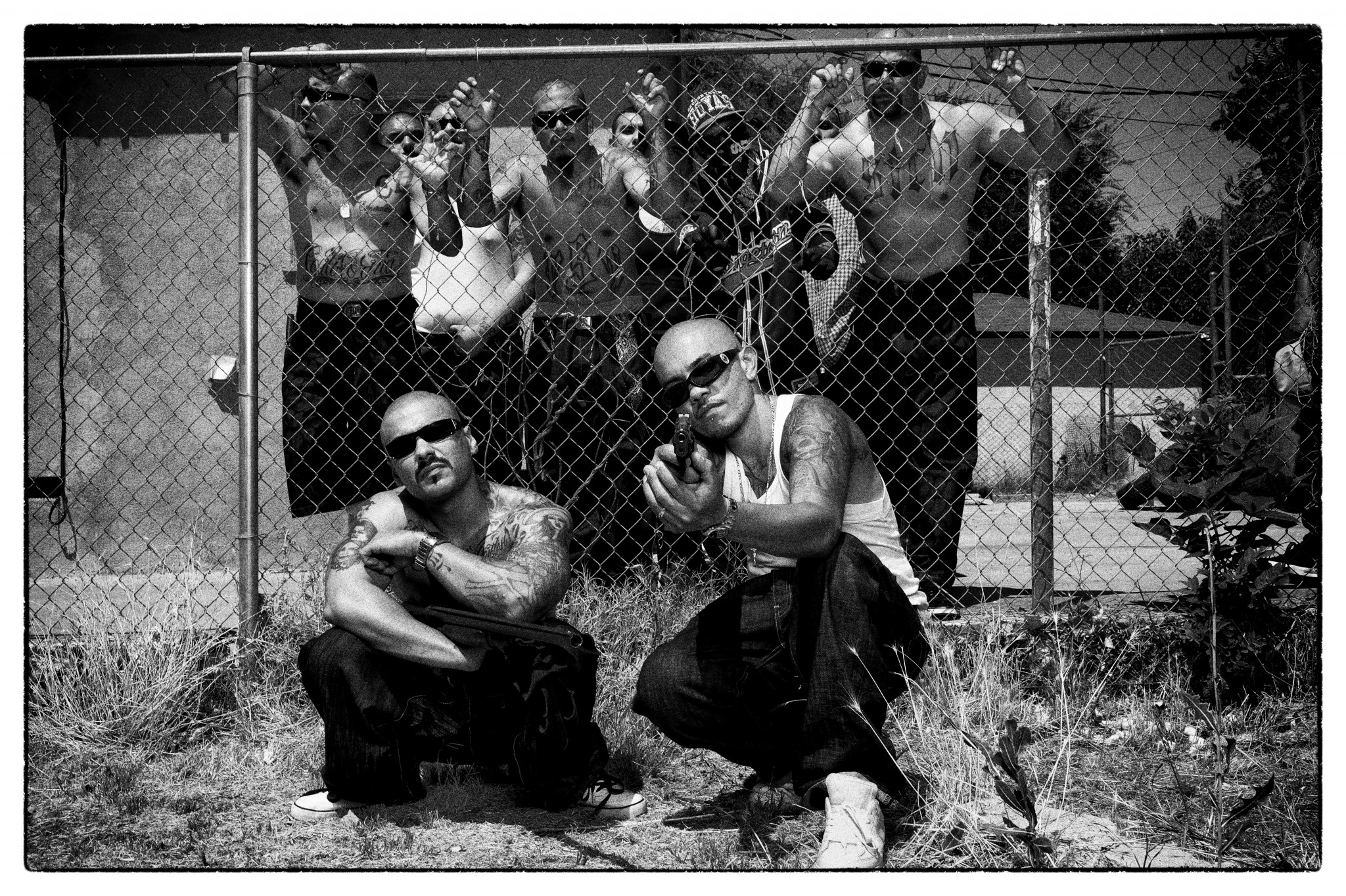 LA gangs as captured by Andres Herren
