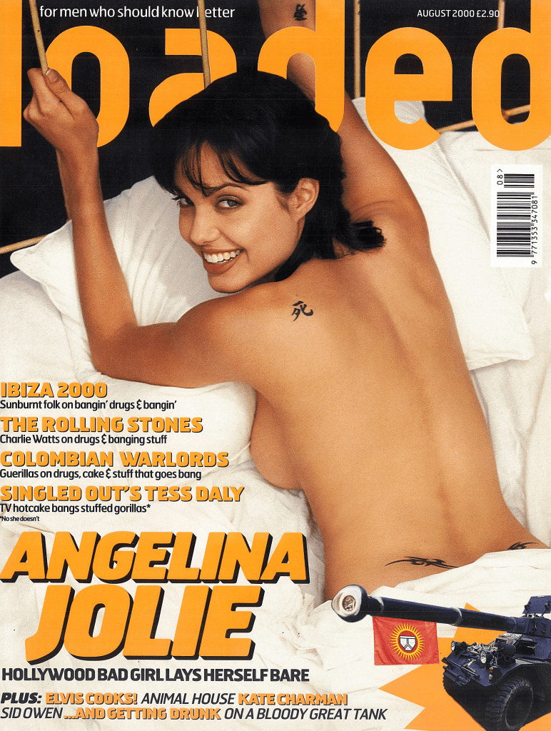 Angelina Jolie talked knives and incest with Loaded