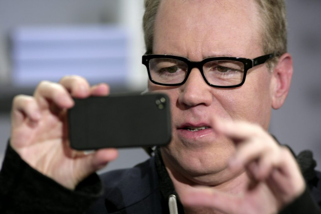 Bret Easton Ellis has got to grips with technology for his self-titled podcast