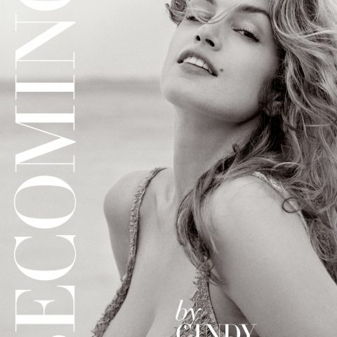 The cover of Cindy Crawford's new book Becoming
