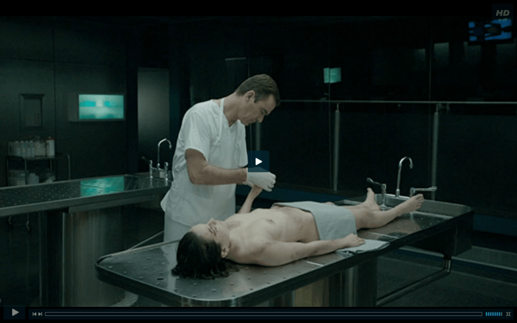 Daisy Ridley played a naked corpse in Silent Witness