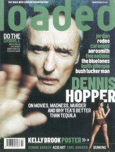 Dennis Hopper Loaded magazine cover classic carousel