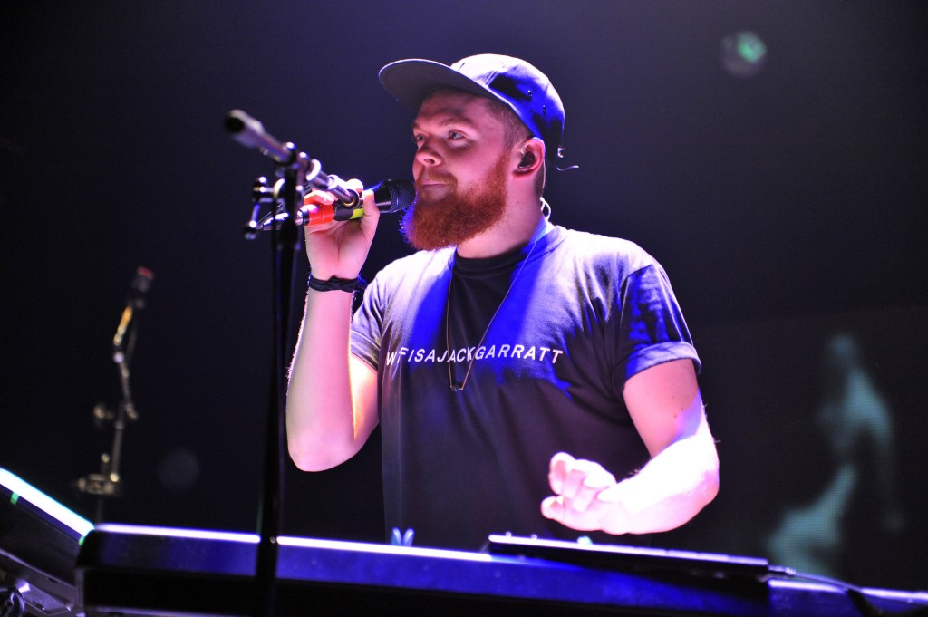 Jack Garratt has issues with the growth pattern of his beard