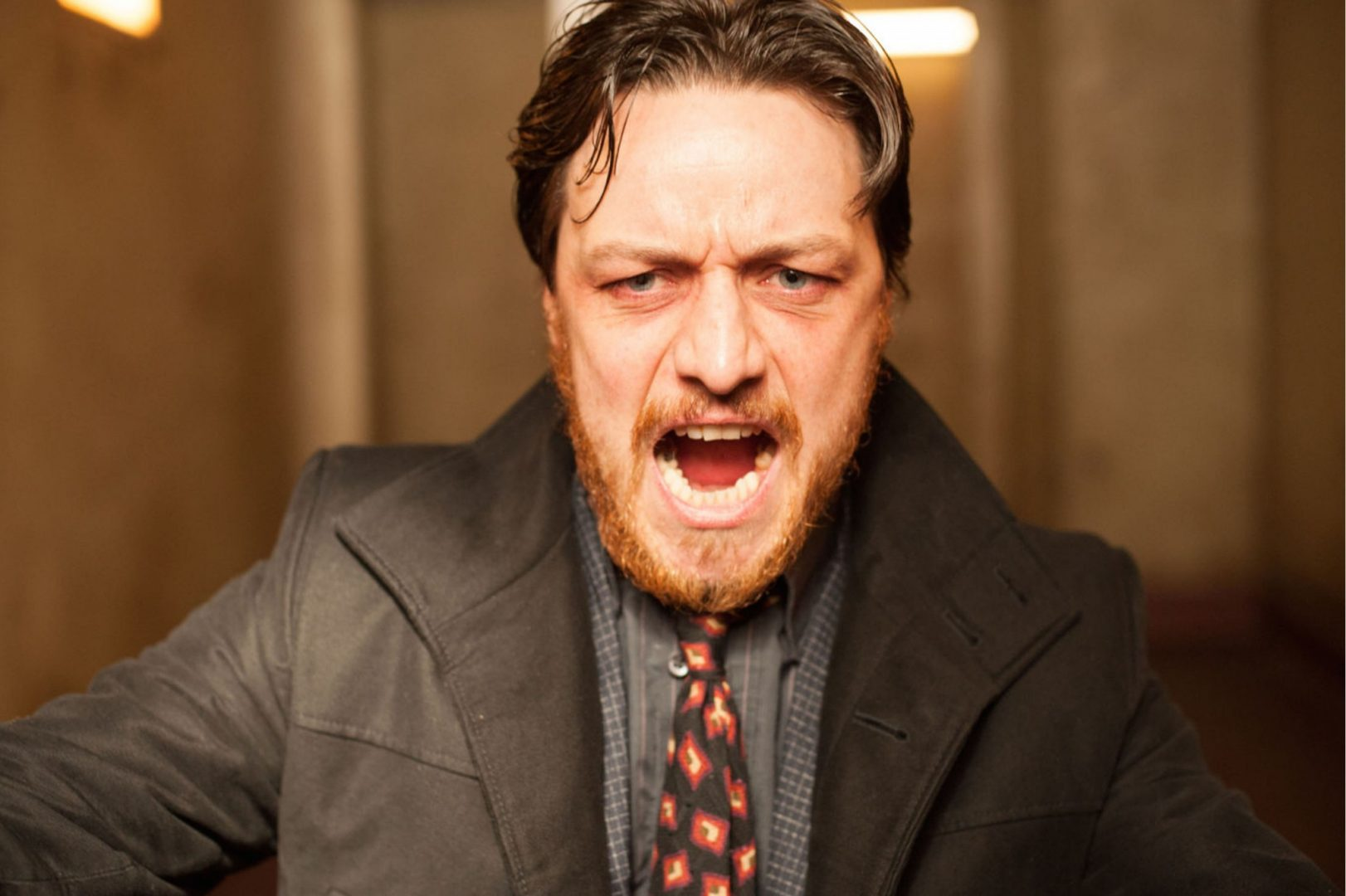 James McAvoy in Filth portrayed Scotland's dark side