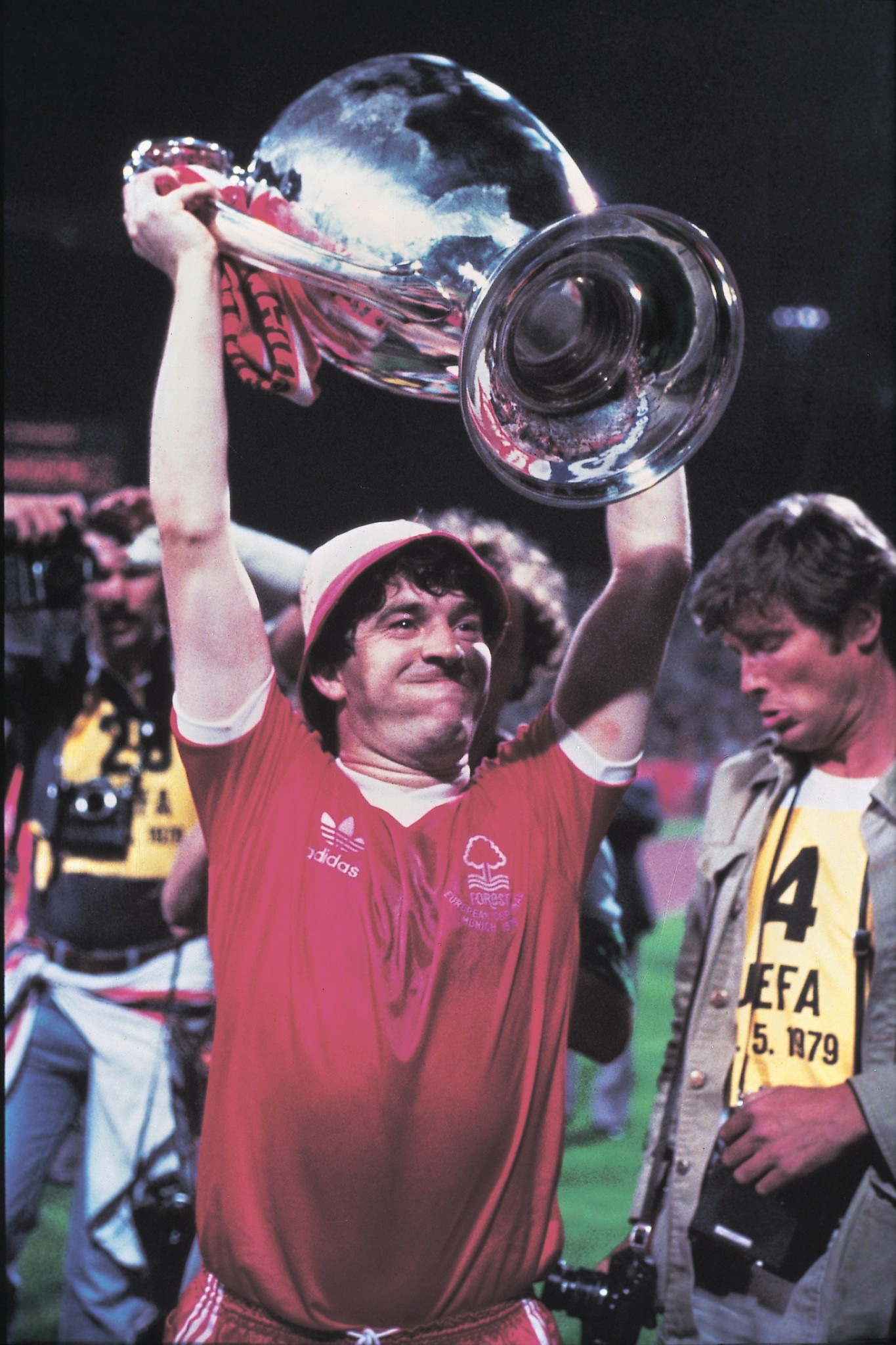 John Robertson lifts the European Cup for Nottingham Forest in I Believe in Miracles