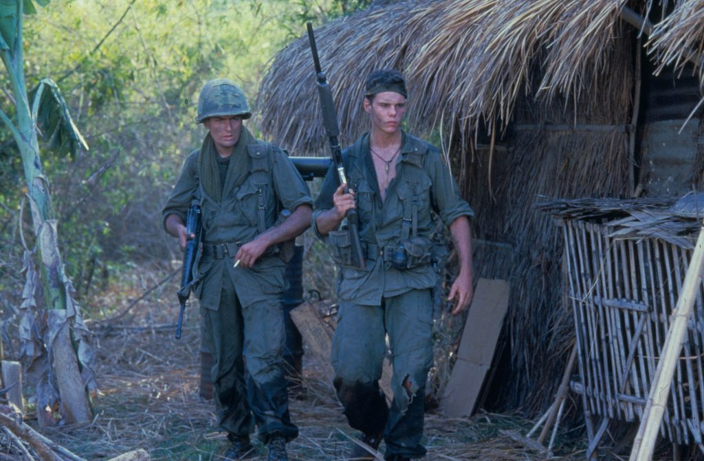 Kevin Dillon as Private Bunny in Platoon