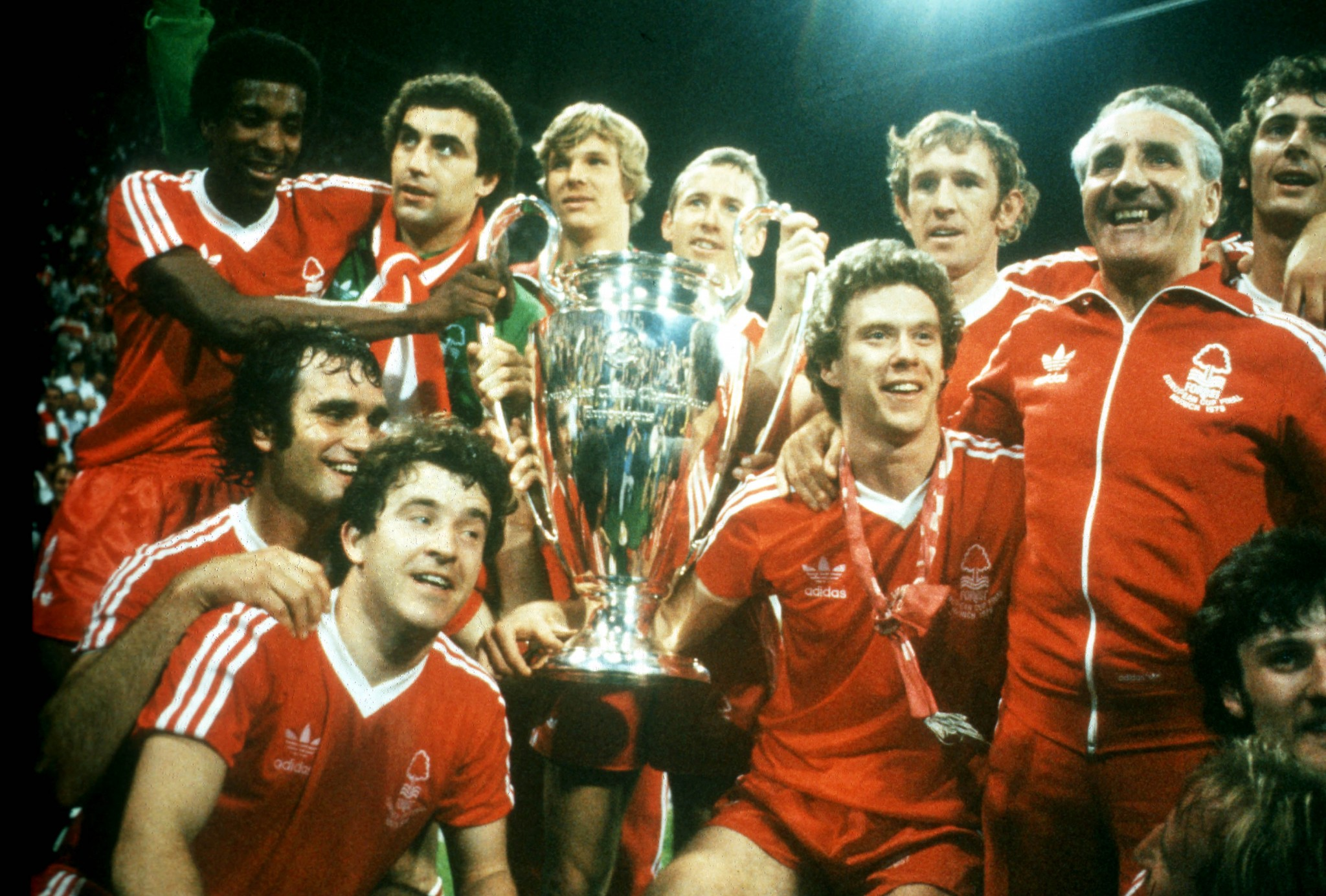 Nottingham Forest's European Cup winning side in I Believe in Miracles
