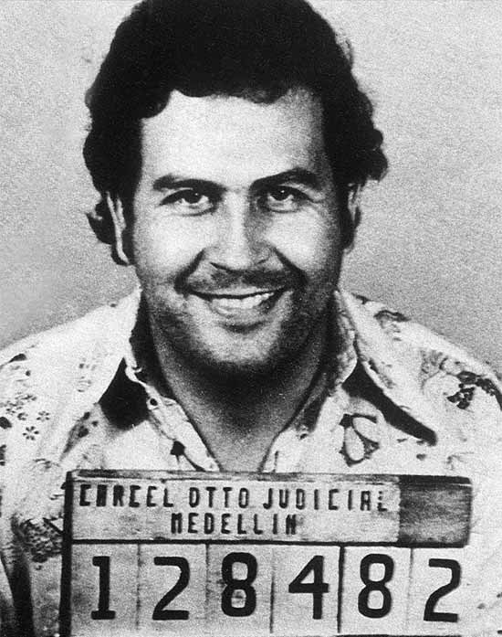 Pablo Escobar's mugshot Loaded