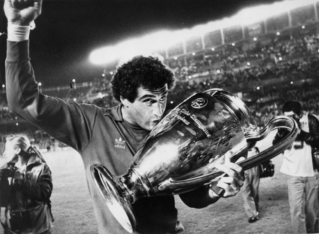 Peter Shilton holds the European Cup in Nottingham Forest documentary I Believe in Miracles