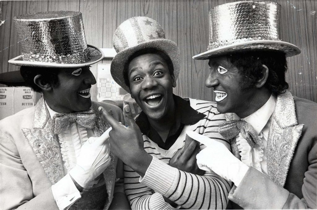 Lenny Henry appeared in the Black And White Minstrel Show