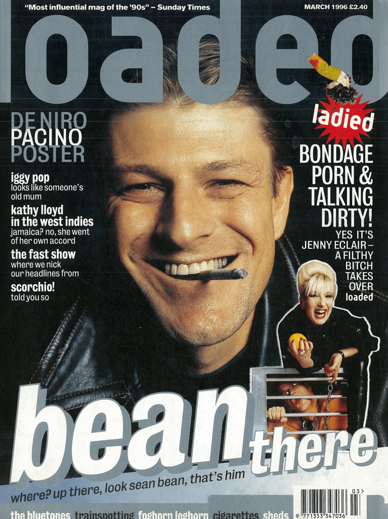 Jenny Eclair guest-edited the Sean Bean-fronted issue