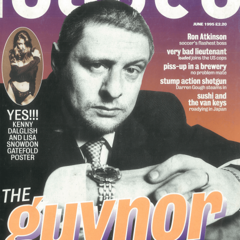 Shaun Ryder was billed as 'The Guvnor' when he appeared on Loaded's cover