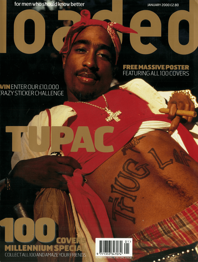 Loaded paid tribute to Tupac Shakur four years after his death