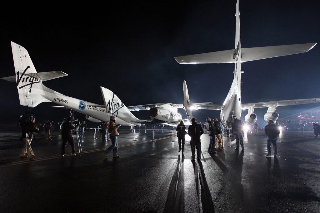 SpaceShipTwo is unveiled in California