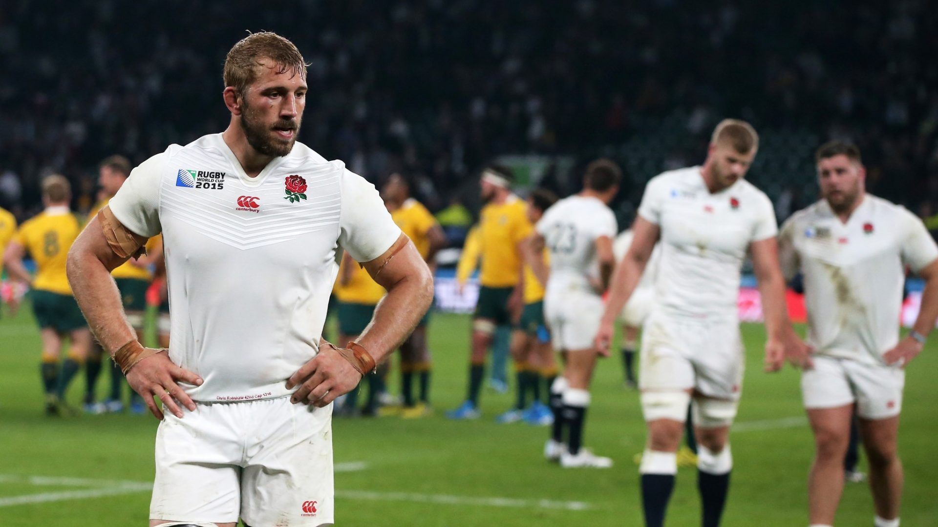 Rugby Union's Chris Robshaw disappointed after Australia defeat