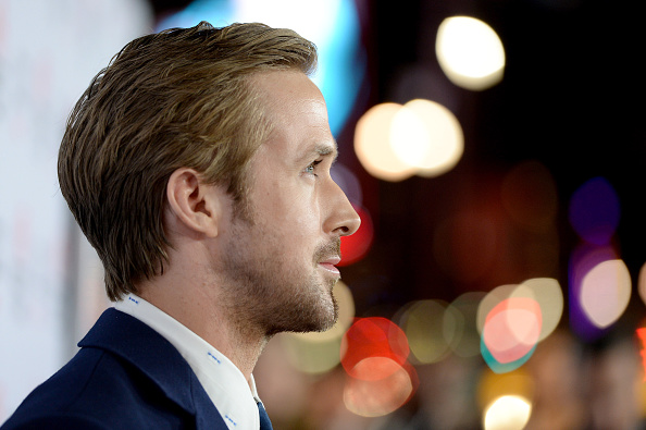 Ryan Gosling On The Big Short Red Carpet