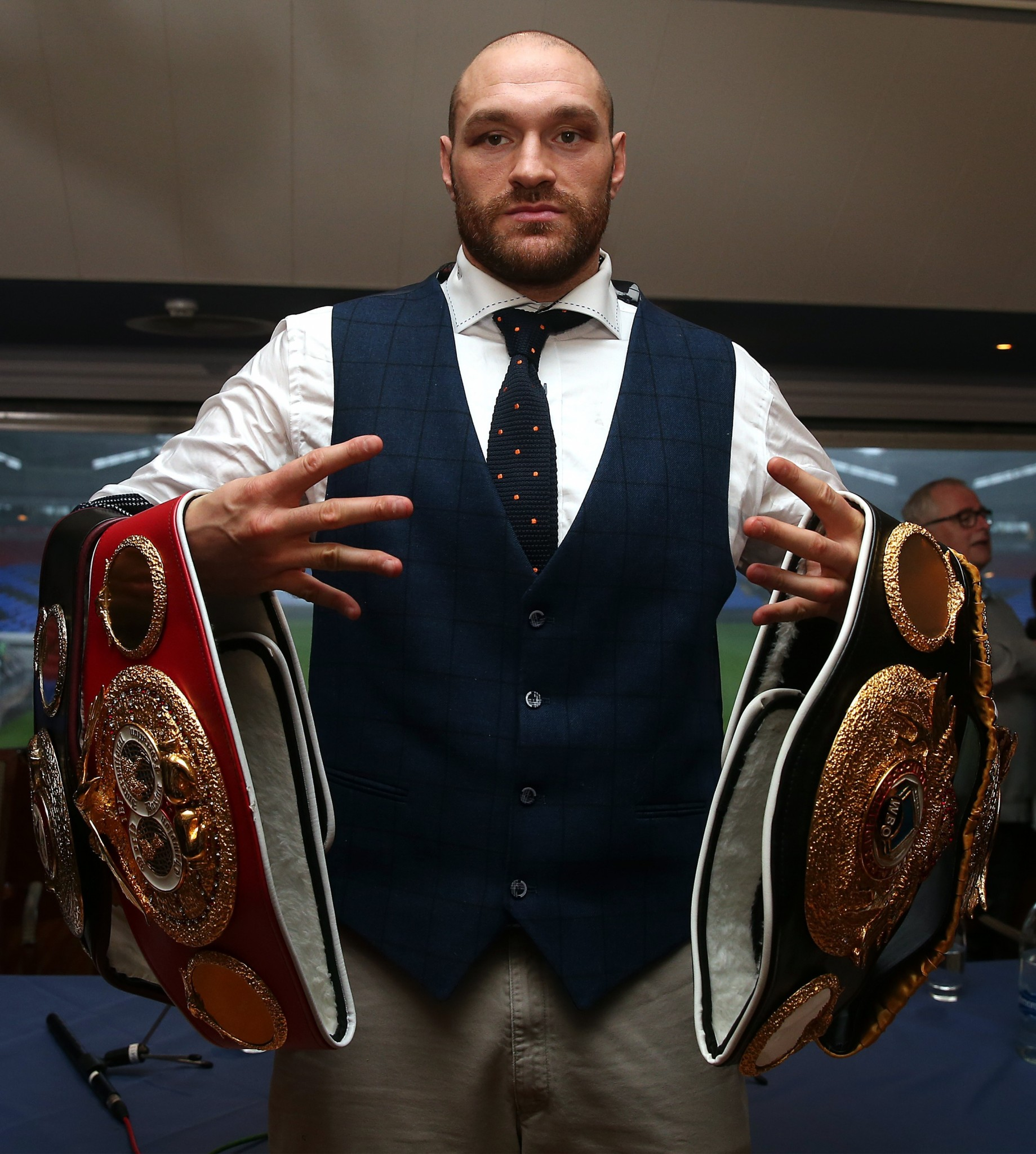Tyson Fury lost his heavyweight title after giving Wladimir Klitschko a re-match