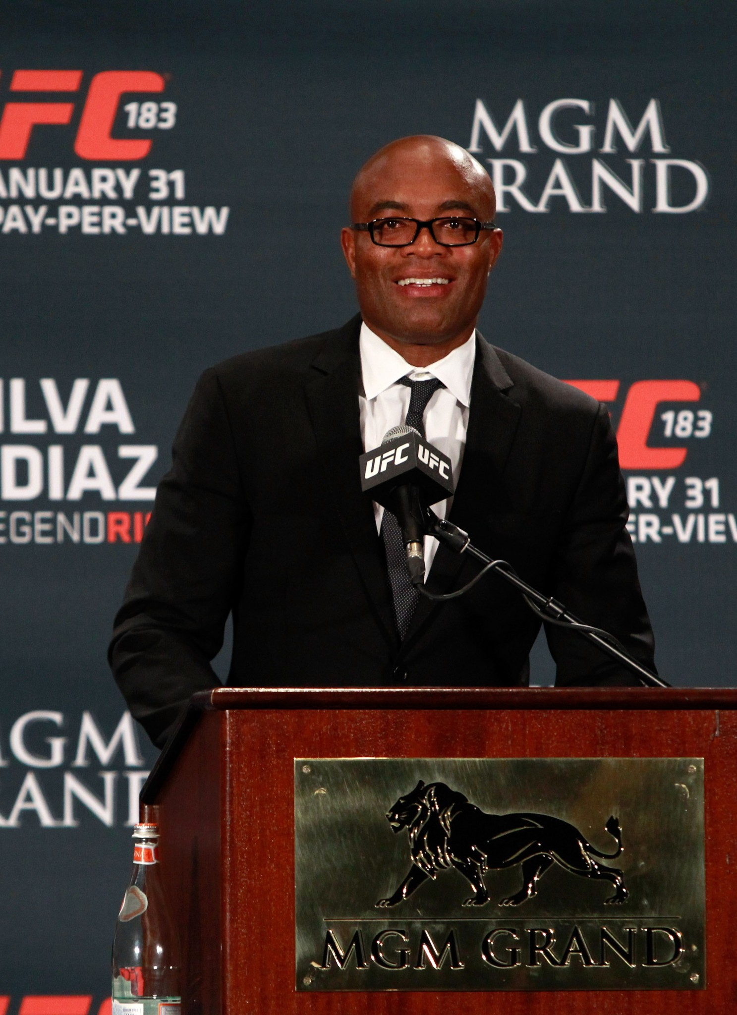 Brazil's Anderson Silva will resume his UFC career against Michael Bisping