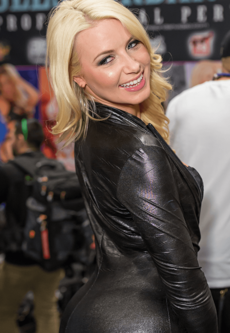 Anikka Albrite at the 2015 AVN Adult Entertainment Expo