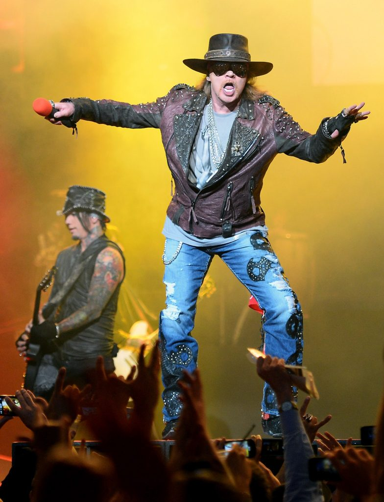 Axl Rose, set to reunite with Slash for Guns N' Roses
